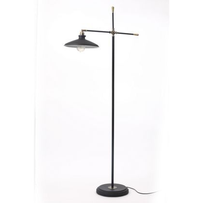 Collins Industrial Floor Lamp - Black at Homebase -- Be inspired and make  your house