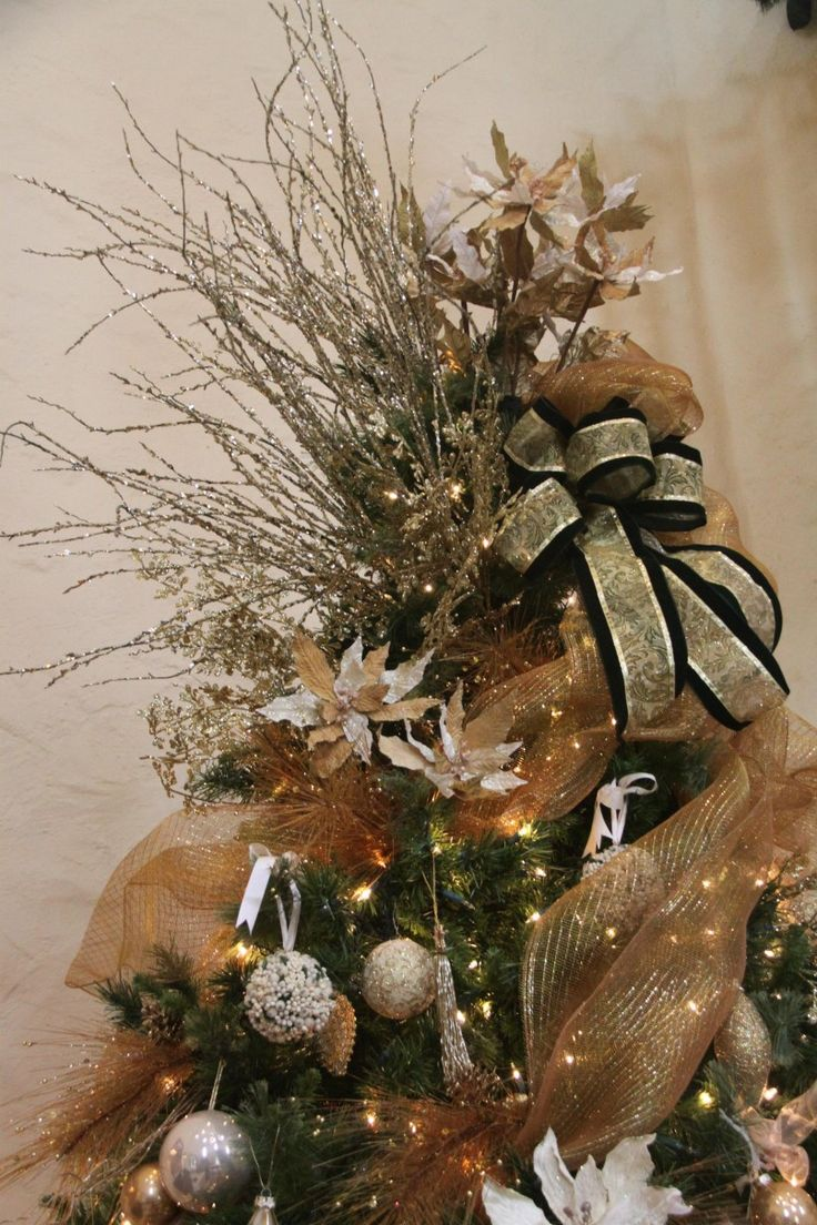 Pictures Of Beautiful Christmas Trees Decorated Fiber