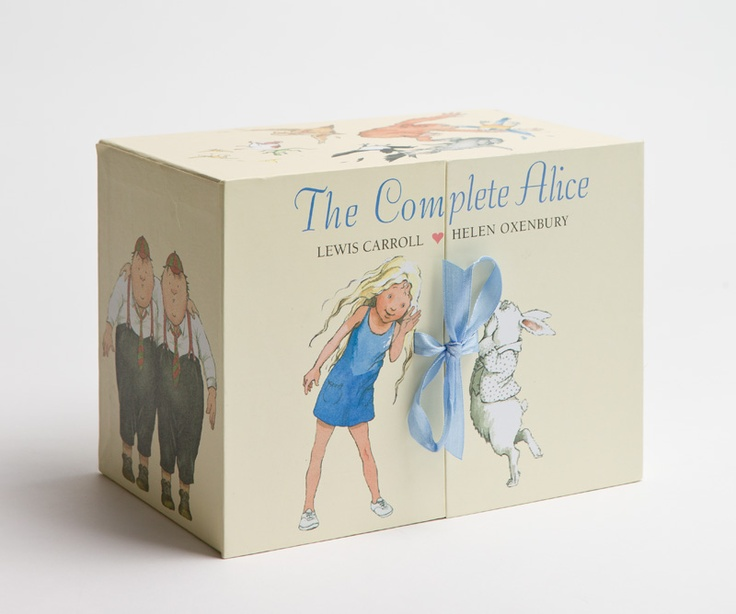 Enjoy some quiet time with Children's gifts that keep giving all year round.  The Complete Alice book set $69.95, Myer.