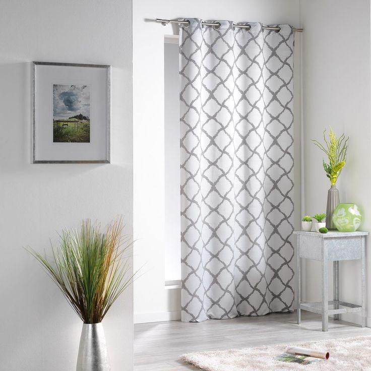 Les 25 meilleures id es de la cat gorie rideaux oeillets sur pinterest rideau chambre id es - Ourlet rideaux quelle hauteur ...