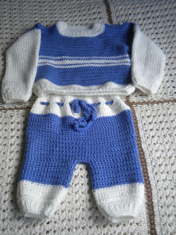 vestidito para bebe a crochet
