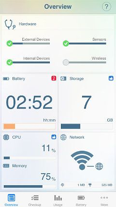 iphone tracking hardware