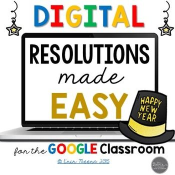 Resolutions Made Easy is a digital essay writing resource that is also printable.  It is the perfect toolkit that can be used to teach the process of essay writing while incorporating a high-interest topic-New Year's Resolutions.This Resolutions Made Easy resource includes:-Google slides link for students to work digitally-Ideas and Directions for Use -Resolutions Made Easy Inspiration-CCSS Covered-Resolutions Made Easy Daily Agenda-Teacher Answer Key-Student Writing Sample-Resolution Essay…