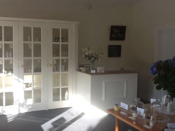 Lovely afternoon sun shines in our store