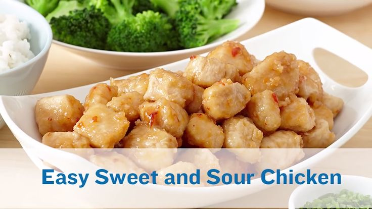 Our Easy Sweet and Sour Chicken is almost as easy as takeout but even more yummy!