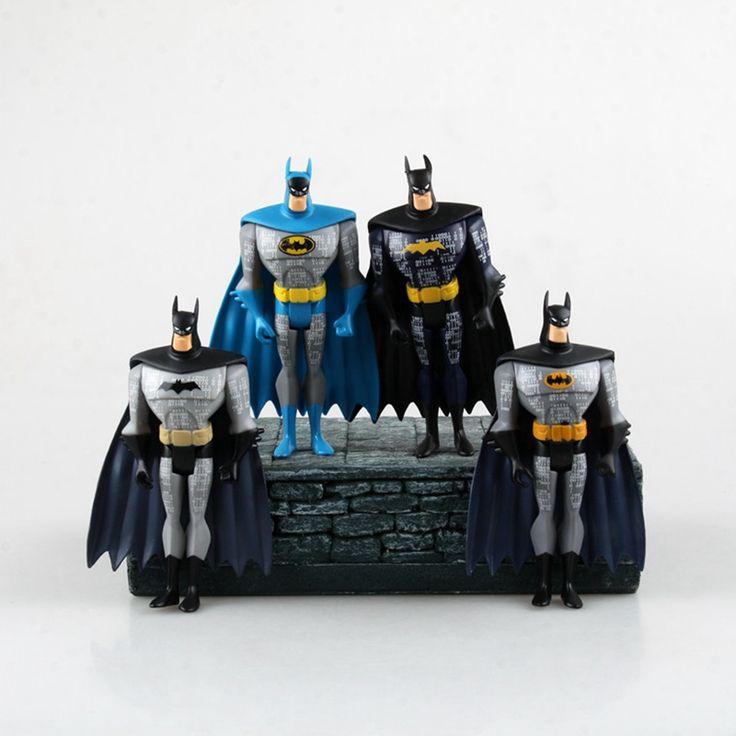 Розничная Темный Рыцарь Повышение Бэтмен Фигурку Многоцветный Фильм Модель ПВХ Детей Коллекция Детские Игрушки