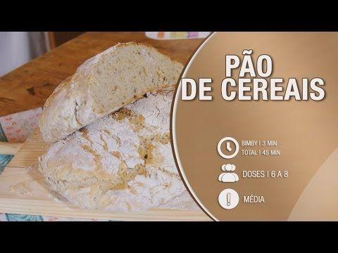 Pão de Cereais - Receita Bimby / Thermomix