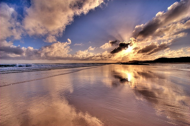 "Sunrise - ""Morning Glory"" - At Waddy Point - Fraser Island - Great Sandy National Park - By Garry"