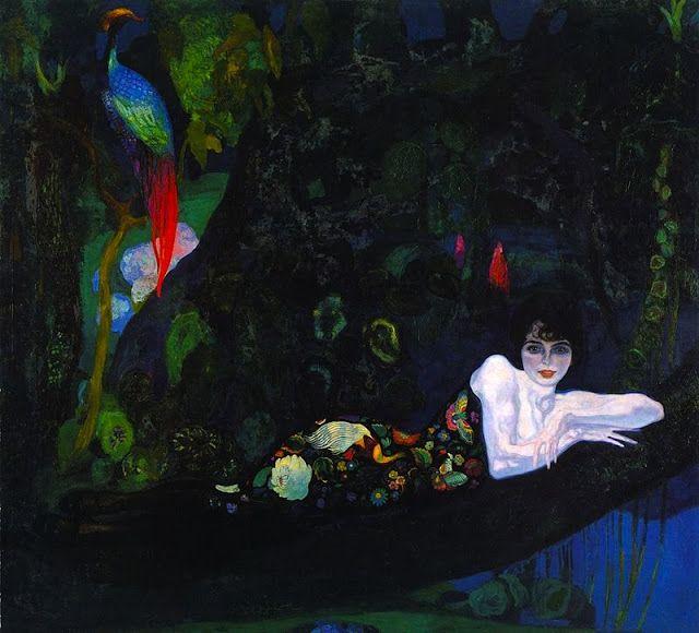 Sonia de Klamery, 1913. Hermenegildo Anglada Camarasa