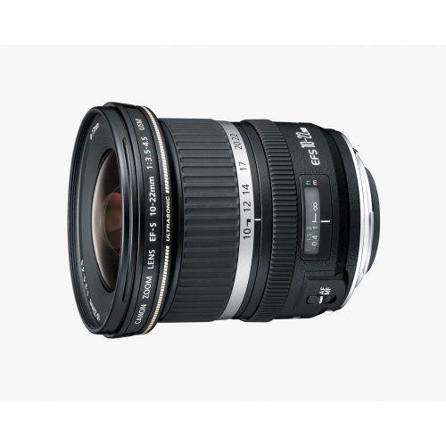 Canon EF-S 10-22mm f/3.5-4.5 USM SLR Lens for EOS Digital SLR's #tech