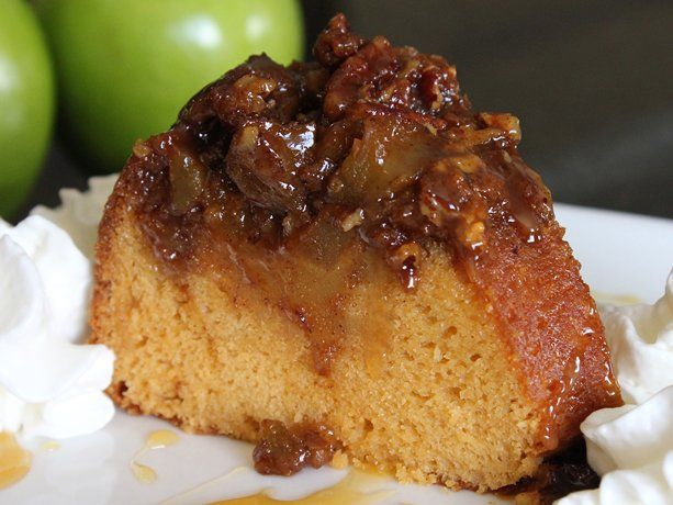 Apple Butterscotch Ring Cake. I make this all the time. It's SO good. Serve warm!