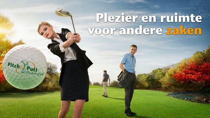 Neem je collega's eens mee naar een andere baan! #bedrijfsuitje #pitchenputt