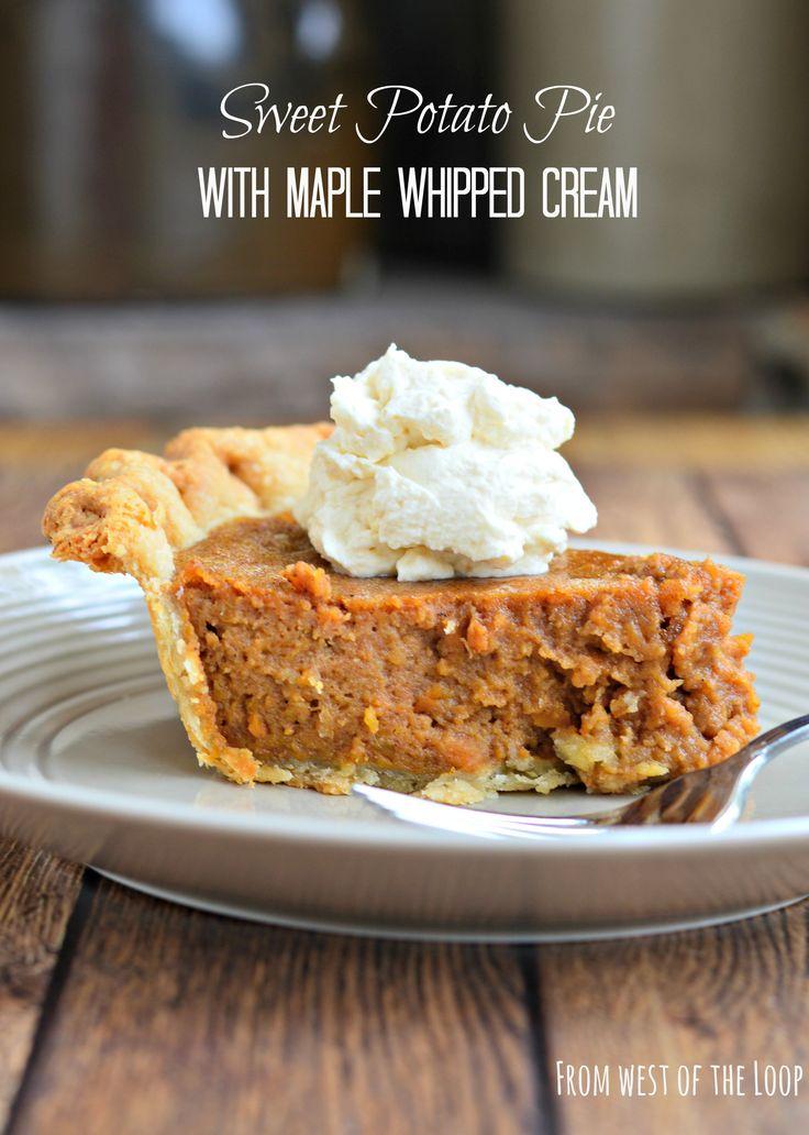 ... Southern sweet potato pie, Chocolate meringue pie and Buttermilk pie
