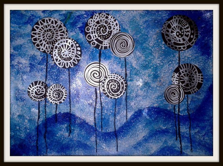 Lollipop trees - Inspirés de Hundertwasser