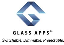 Glass Apps is the world's #1 provider of electrically switchable glass and smart film that changes from clear and opaque states on demand and provides unprecedented control over the amount of light, privacy and heat that enters the building or residence.