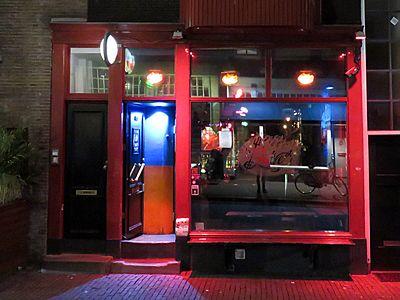 Hiphop cafe De Duivel in Reguliersdwarsstraat