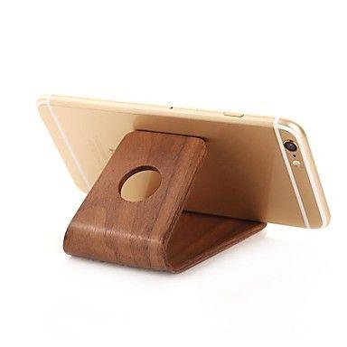 samdi iphone dock vugge kreativ træramme desktop kreativ træ base for iphone4 / 4s / 5 / 5c / 5s / 6/6 plus m.fl. – DKK kr. 151