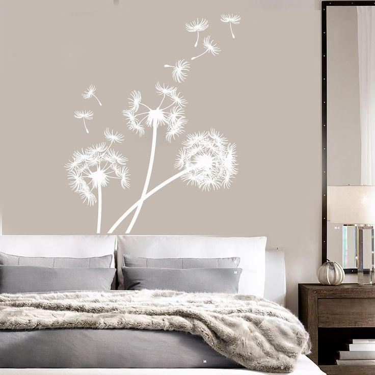 Vinyl Wall Decal Dandelion Bedroom Decoration Flower Stickers Mural (ig3358)