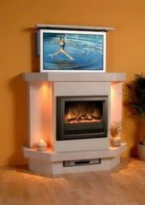 modern fireplace tv stand for flat screens modern electric rh pinterest com