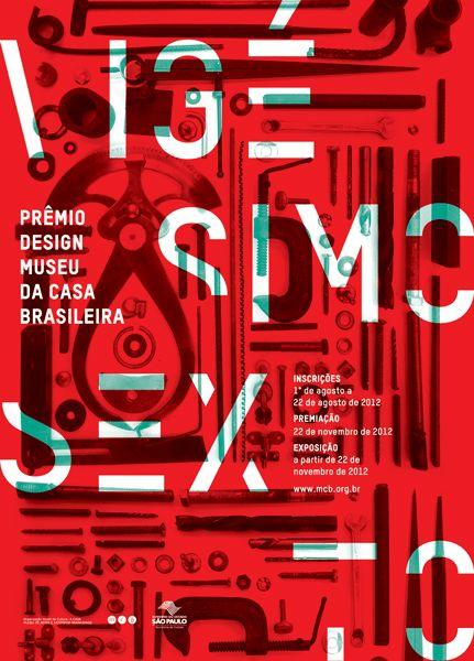 Museu da casa brasileira nathaliacury cartaz for P o style architecture