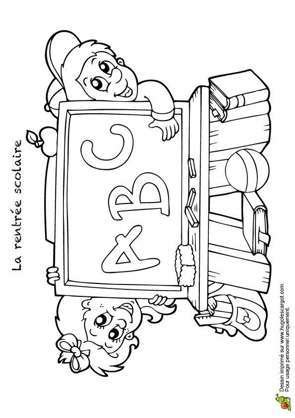 Coloriage Rentree Des Classes Class Pictures Coloring Pages