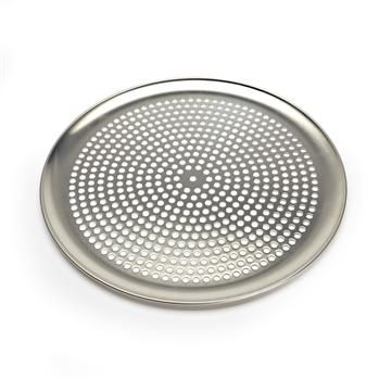 "Adamo Uno Pizza Pan W/Holes 16"" Dia. Aluminum   Kitchen Stuff Plus"