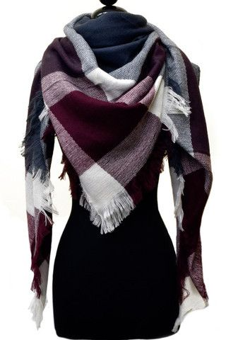 Blanket Scarf – Bloom and Snow Boutique