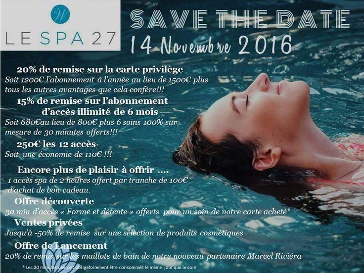 [Journée Anniversaire] Lundi 14 novembre, Le Spa 27 de l' Hotel Westminster Nice, Côte d'Azur fête son 1er anniversaire et vous invite à une journée découverte avec visite du spa et ventes privées - Toutes les infos sur la page Facebook de Mister Riviera, le blog sur Nice et la Côte d'Azur