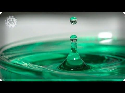Super Hydrophobic Surface and Magnetic Liquid - The Slow Mo Guys - YouTube
