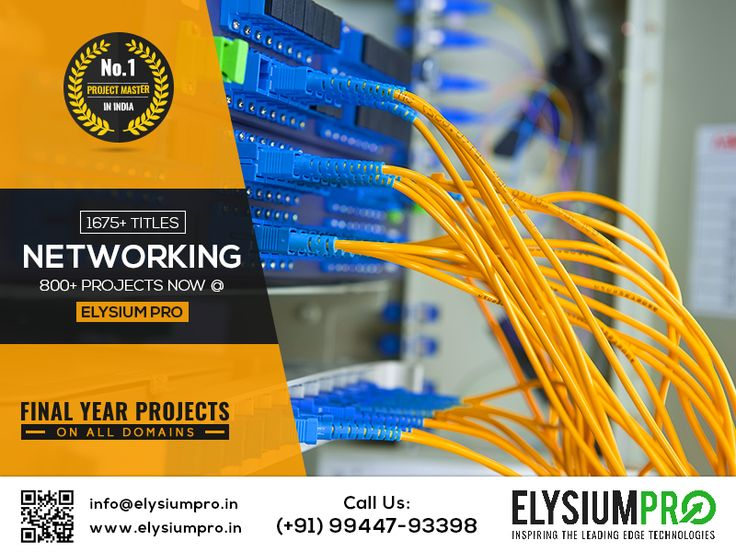 We #ElysiumPro #ProjectCenter #FinalYearProject #IEEEProjects #EngineeringProjects #NetworkingProjects offer Networking projects