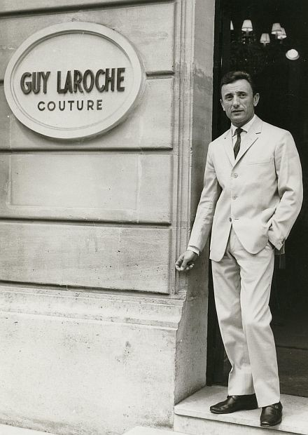 Guy Laroche 1921 - 1989 France Couturier. Founded his brand in 1956 he was one of the first to create separates.
