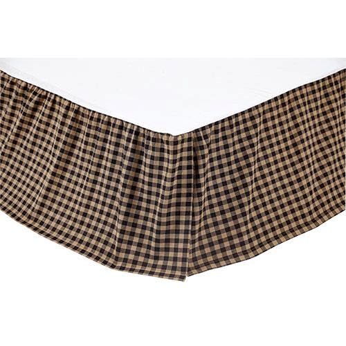 Country Gingham Bed Skirt, Queen Size
