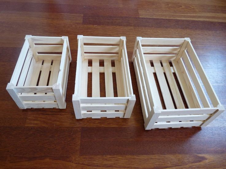 Set of 3 wooden crates ,  wood storage box, Unfinished Unpainted Wood Crate, wood dispaly painting decoupage, unfinished box, Wedding boxes by nkcraftstudio on Etsy