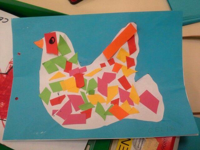 Collage día de la Paz. Infantil Maxigil