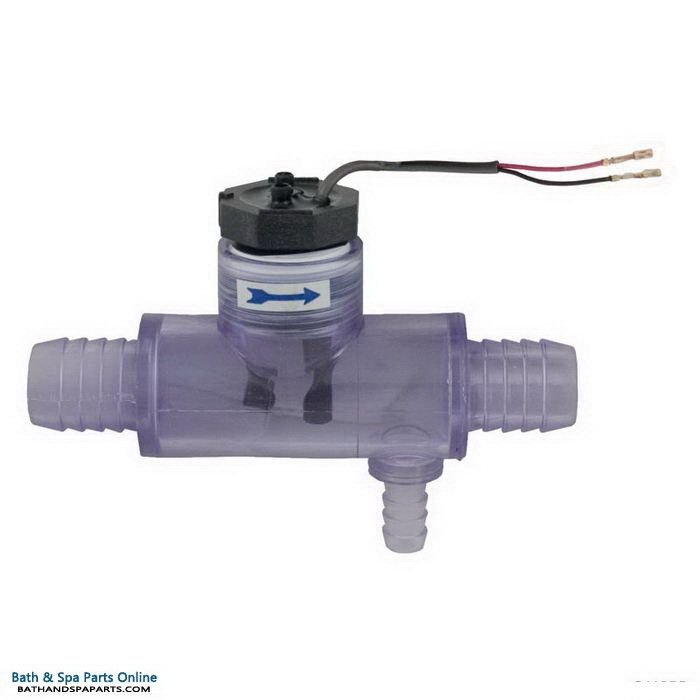 """Sundance Spas Flow Switch Replacement [3/4"""" Barb x 3/4"""" Barb x 3/8"""" Barb] [Tee] (26-455-1002)"""