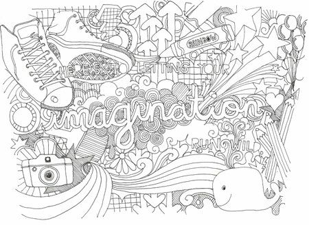 Cool Designs To Draw On Your Binder Artistic Binder Doodle...