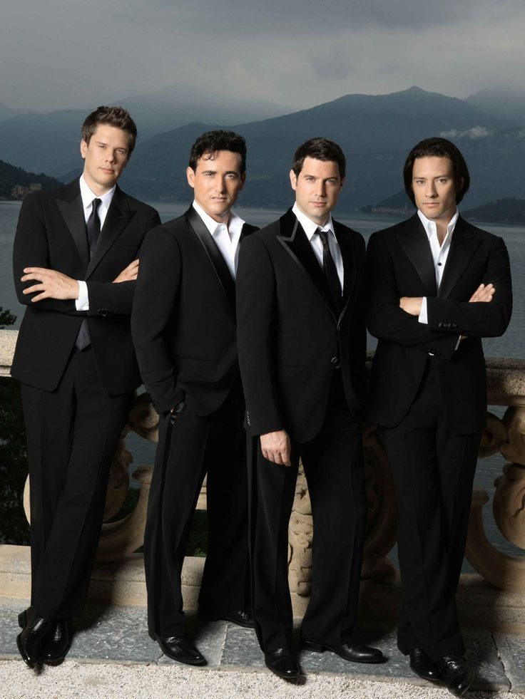 Il Divo: Not typically my style, but amazingly, talented men. I have downloaded a few songs out of pure appreciation for their incredible voices.