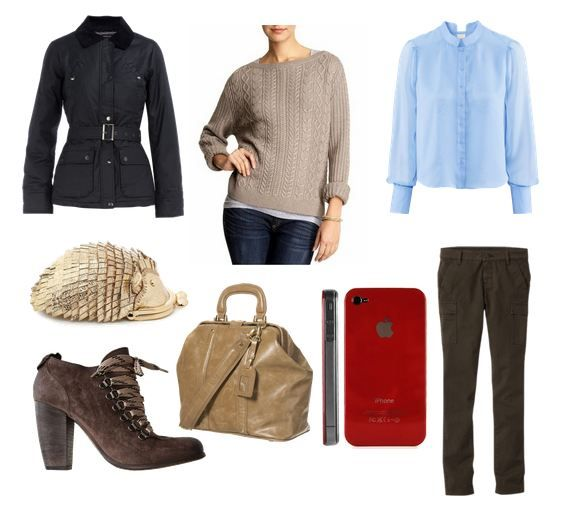 Sherlock BBC fashion for women, John Watson. I could probably do most of this...