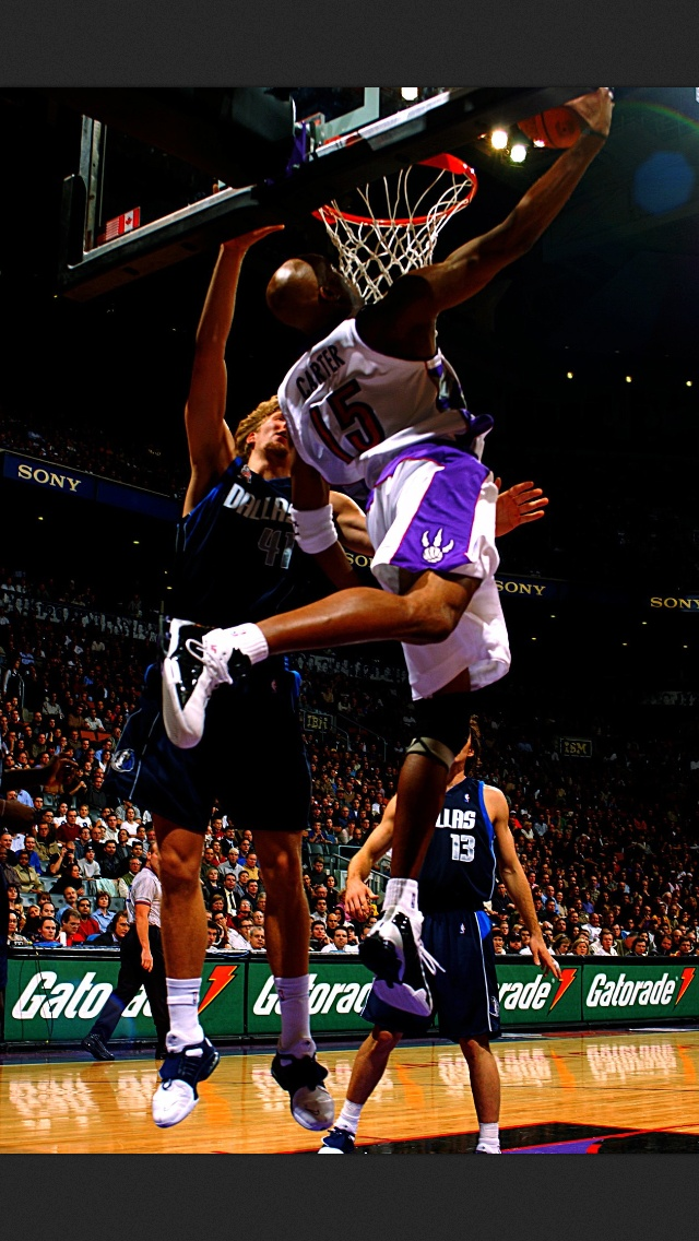 Vince Carter the Greatest Dunker Ever...even Dr. J has admitted it.