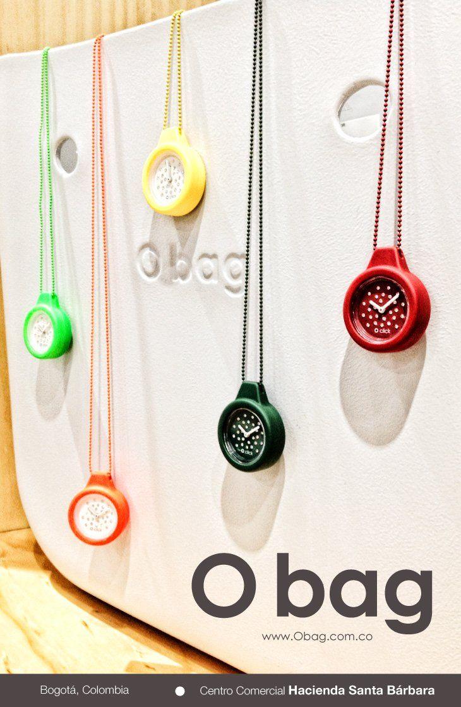¡Ven a crear originales combinaciones de carteras, relojes y lentes! Nos vemos en O bag Store  Centro Comercial Hacienda Santa Bárbara - Bogotá, Colombia (Local D - 207) Teléfono: 612.25.10.  www.Obag.com.co