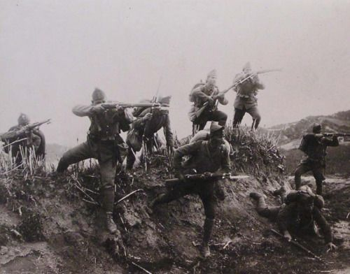 Greek charge, Greco-Turkish War, 1920