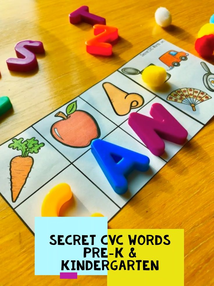 Preschool and Kindergarten Phonics Activities and