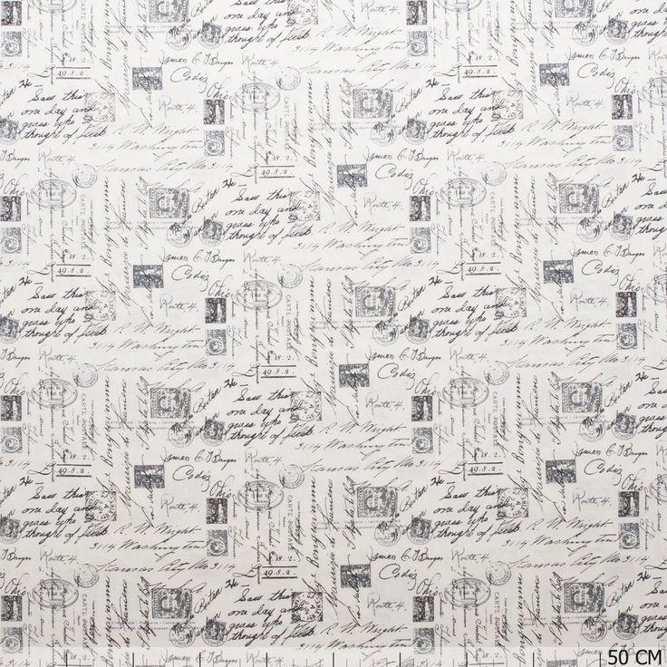 De mooiste script stoffen vind je bij Textielstad.nl. ✓ Snelle levering ✓ Beste prijs ✓ Betrouwbaar ✓ A-merken.