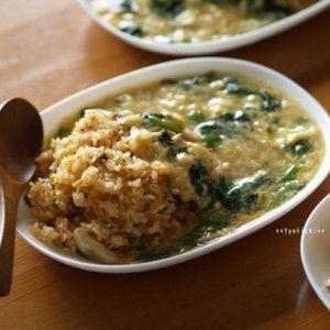 とろ~りあんかけのキムチチャーハン+by+かな姐さん+|+レシピブログ+-+料理ブログのレシピ満載! 子供たち大絶賛のお昼ご飯です♪