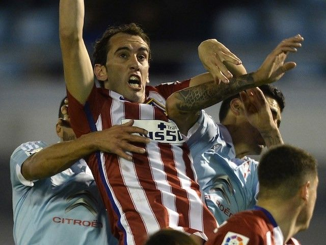 Report: Atletico Madrid's Diego Godin a doubt for Bayern Munich clash