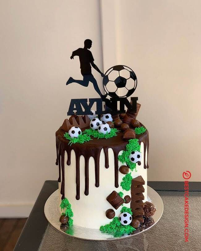50 Soccer Cake Design Cake Idea January 2020 In 2020 With Images