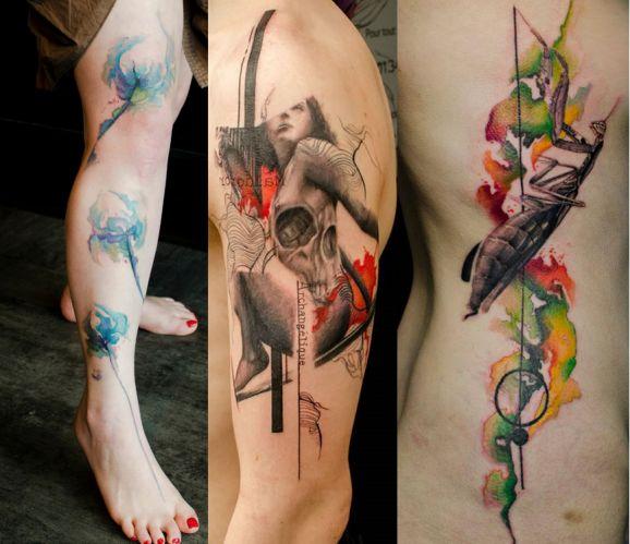 270 Best Tattoo Ideas Images On Pinterest: 30 Of The Best Graphic Tattoo Artist - Klaim