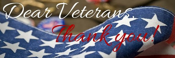 Let's #honor #Veterans on #November11th!  Visit our #blog for #ideas to #celebrate.