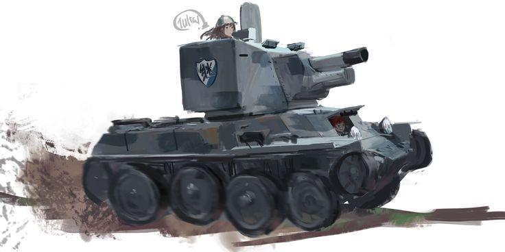 「BT-42」/「Xx_sidneySORA」のイラスト [pixiv]