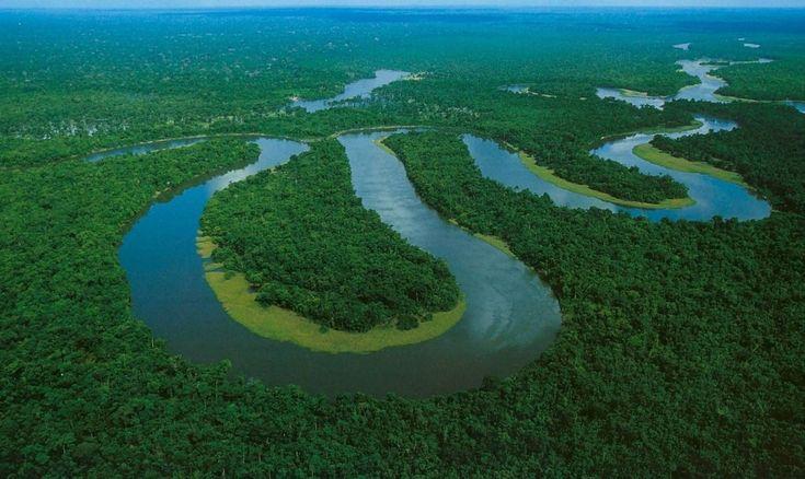 Rio Amazonas e seus afluentes